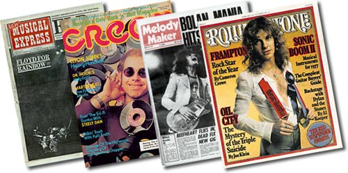 Rock Magazine Archive: Rock's Backpages