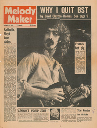 fa75bc316 Melody Maker was for many years one of the leading UK weekly pop and rock  music newspapers. It was founded in 1926, largely as a magazine for dance  band ...